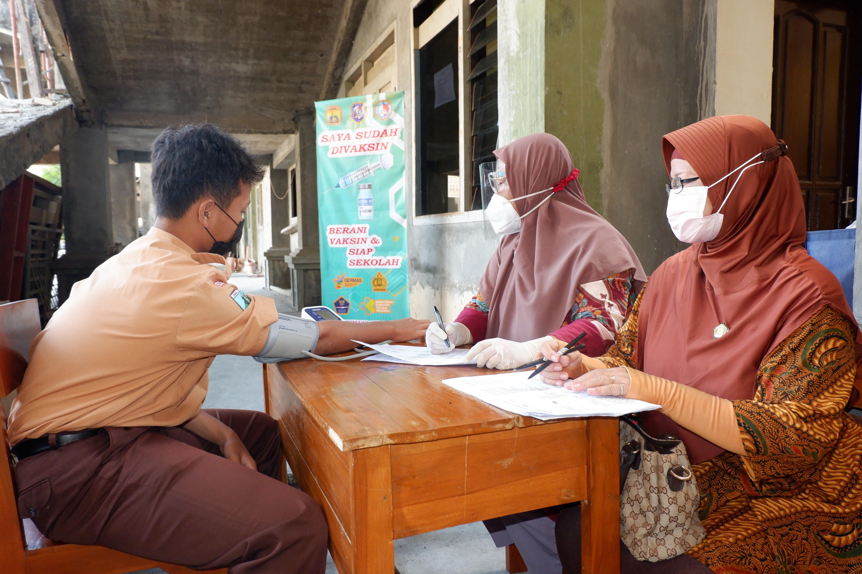 Penyelenggaraan Vaksinasi Covid-19 Tahap 1, Bagi Peserta Didik SMA Plus Darma Siswa